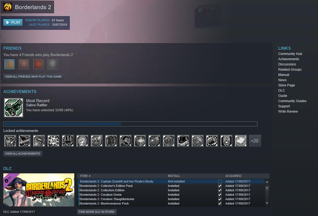 Steam DLC Not Installed