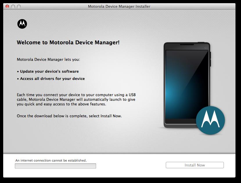 Motorola Device Manager