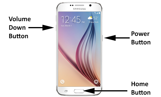 Hard Reset Galaxy S6