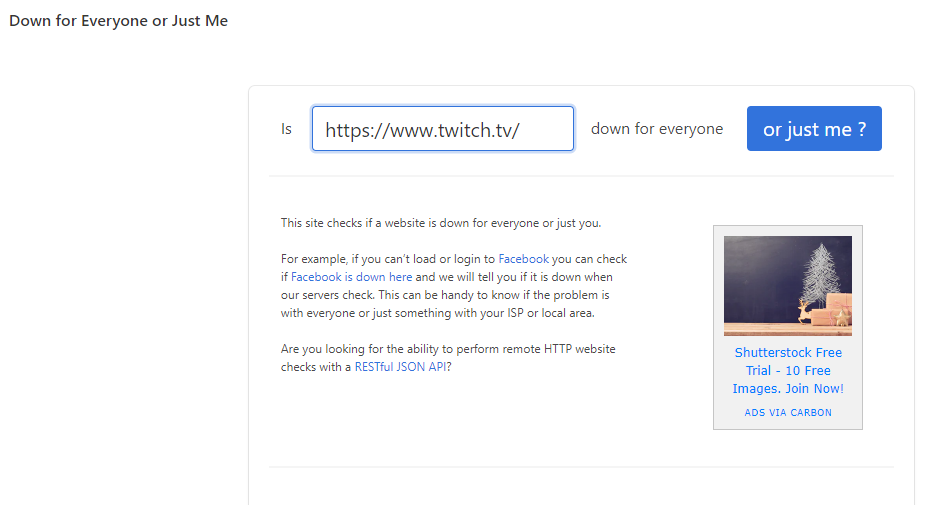 twitch not working