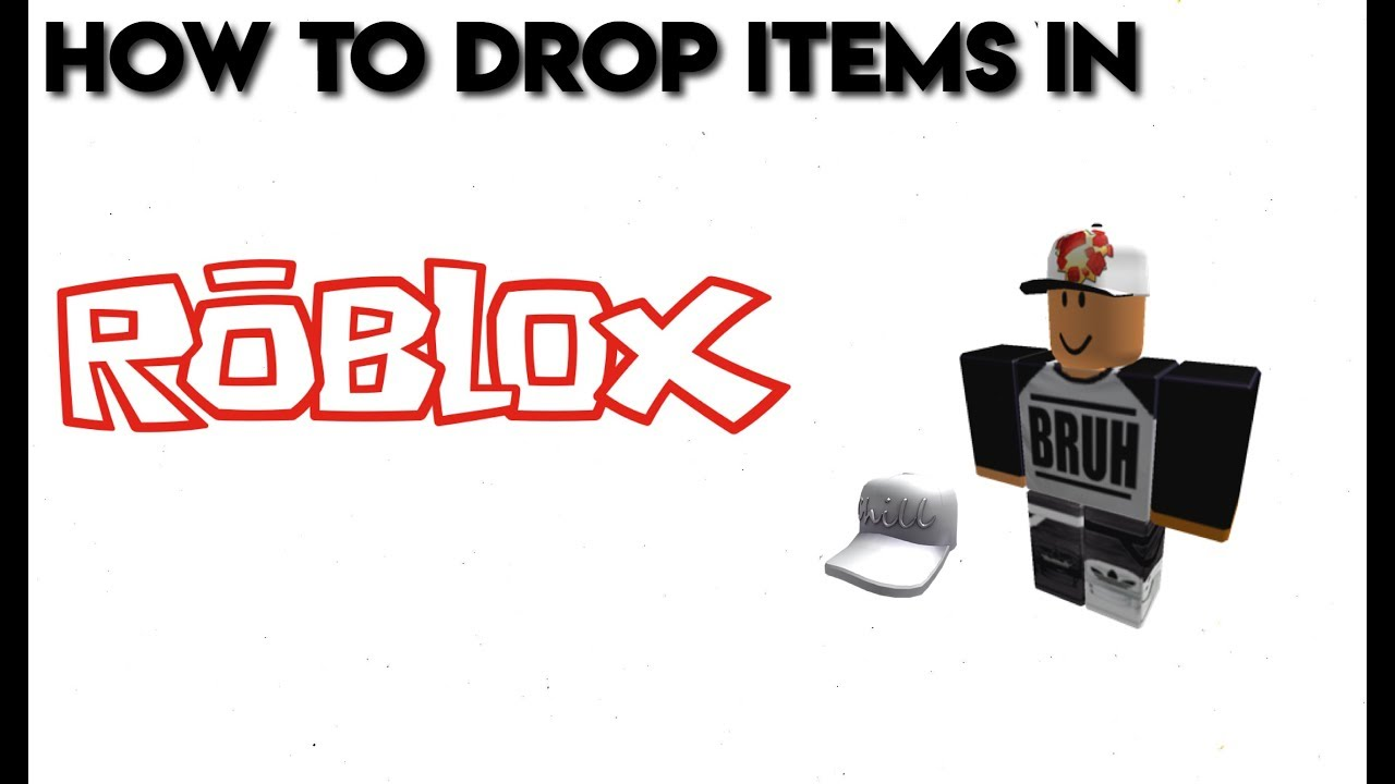 Drop Items in Roblox