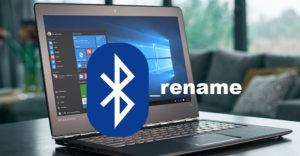 Rename a Bluetooth Device on Windows 10