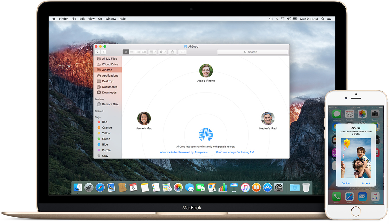 Airdrop on Mac not Working