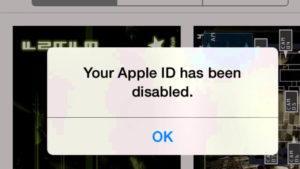 Apple ID Disabled