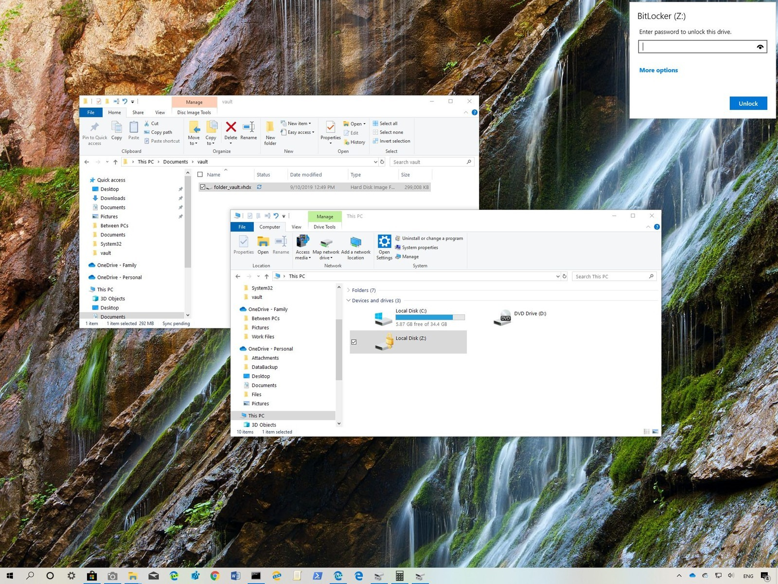 Password Protect a Folder in Windows