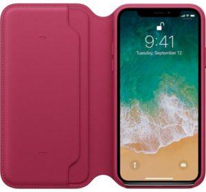 iPhone-X-Leather-Folio-Berry-Best iPhone X Cases