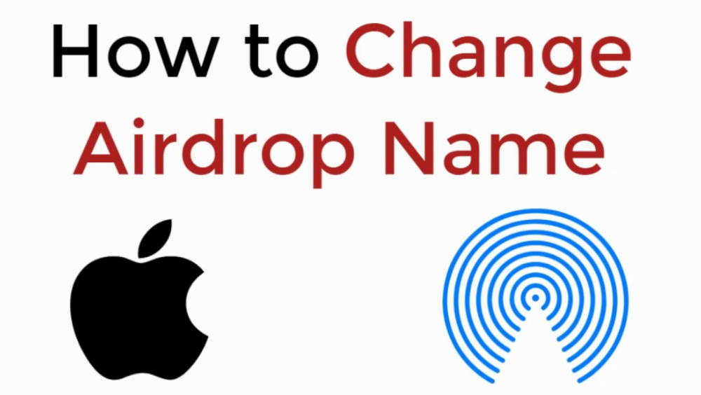 modify your Airdrop name