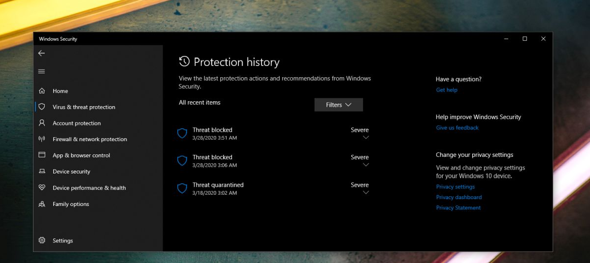 Stop windows Defender From deleting Files
