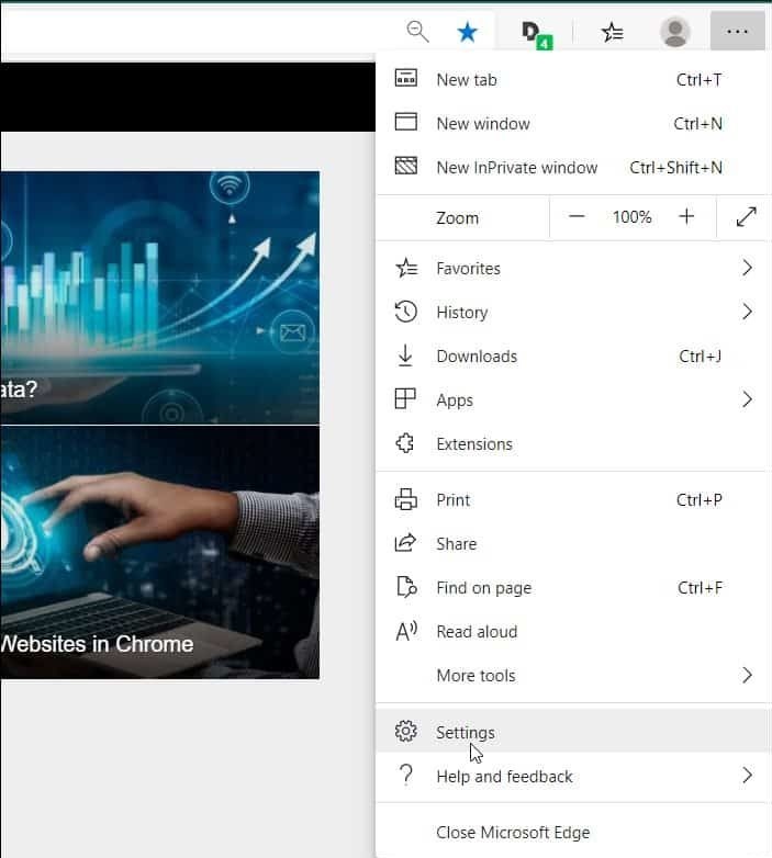 Turn Off Microsoft Edge Search Suggestions