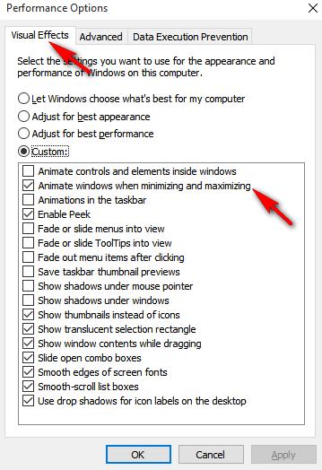 screenshot on windows