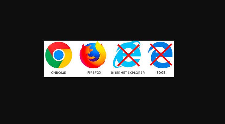 Blackboard in Chrome and Firefox