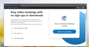 Organize A Skype Video Conference