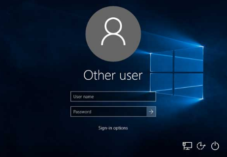 Switch User in Windows 10