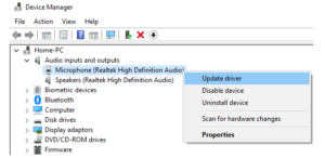 Update and Uninstall Drivers