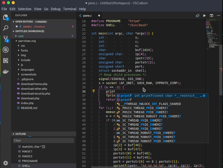 installation of VSCodium IDE on Linux