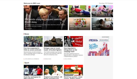 15 most popular news websites