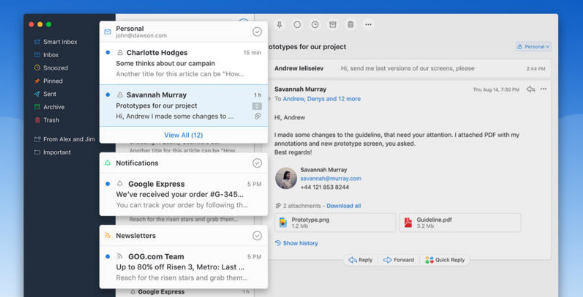 Edit Smart Folders in Spark