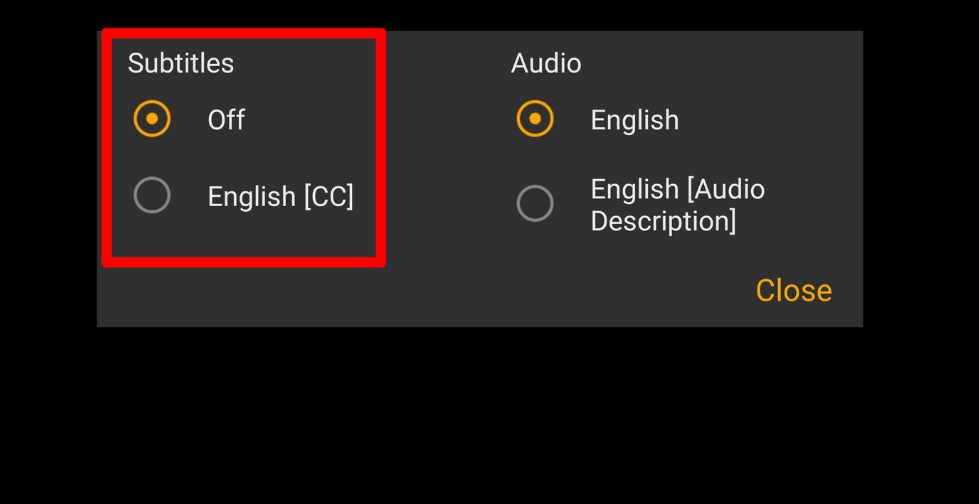 Enable Or Disable Closed Captioning On Amazon Prime Video