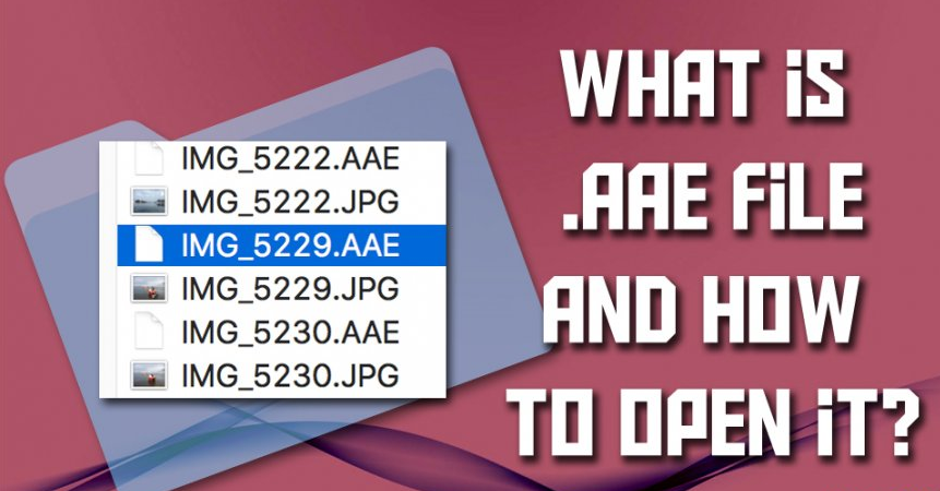 File Extension AAE