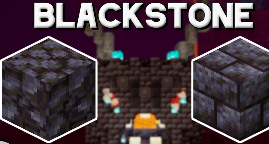Mine Blackstone in Minecraft