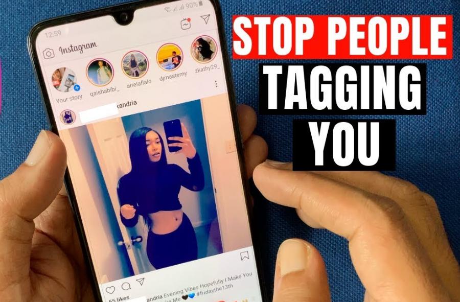 block Instagram mentions