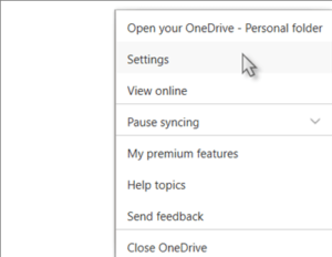 Turn Off OneDrive-Microsoft OneDrive Error
