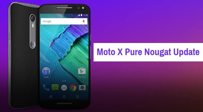 Moto X Pure xt1575 Nougat