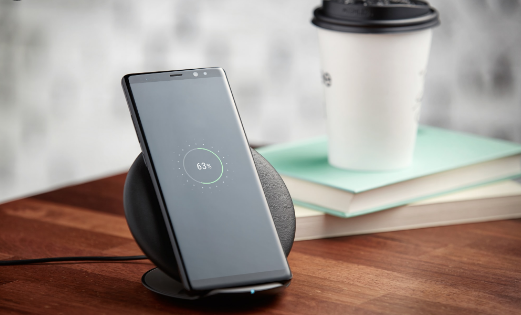 note 8 wireless charging