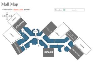 Aventura Mall Map