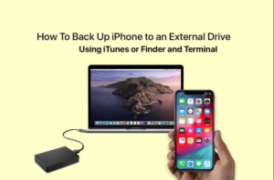 Backup Of iPhone To External Drive