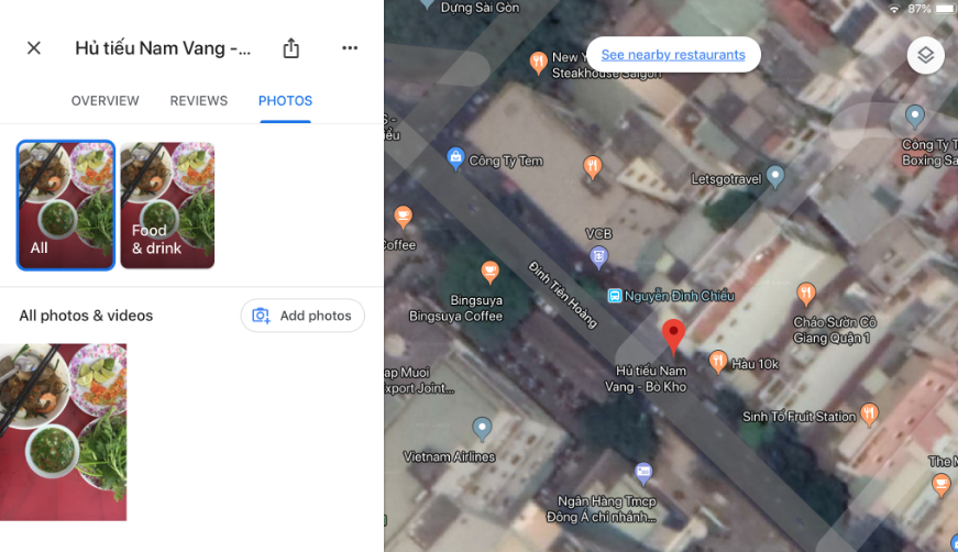 Google Photos Map View Not Working