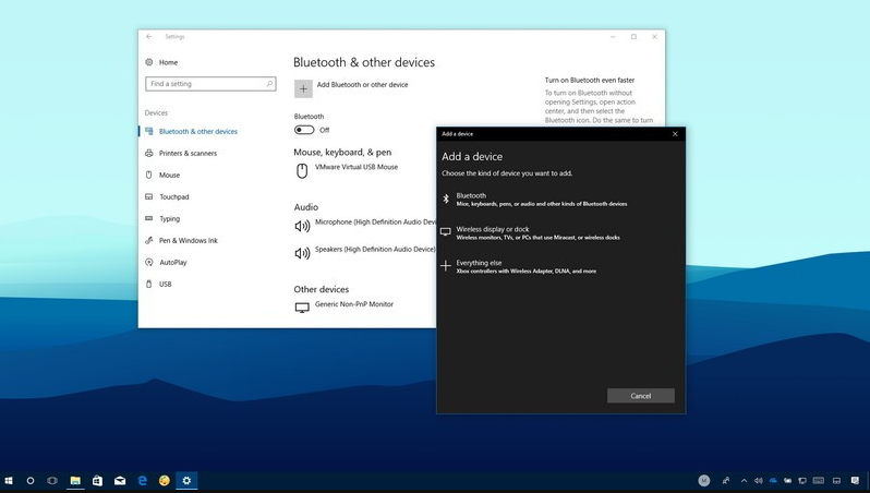 How to Add or Remove Bluetooth Taskbar Icon in Windows 10