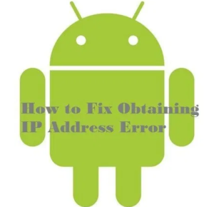 IP Address Error On Smartphones
