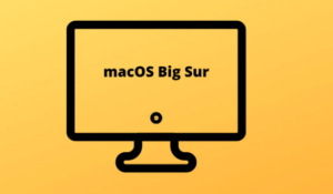 Install MacOS Big Sur Beta