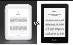 Nook vs Kindle coparison