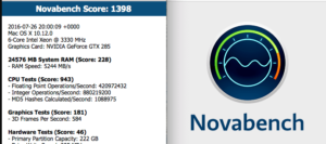 Novabench-Stress Test Your CPU