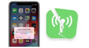 """Steps To Fix """"Cellular Update Failed"""" On iPhone"""