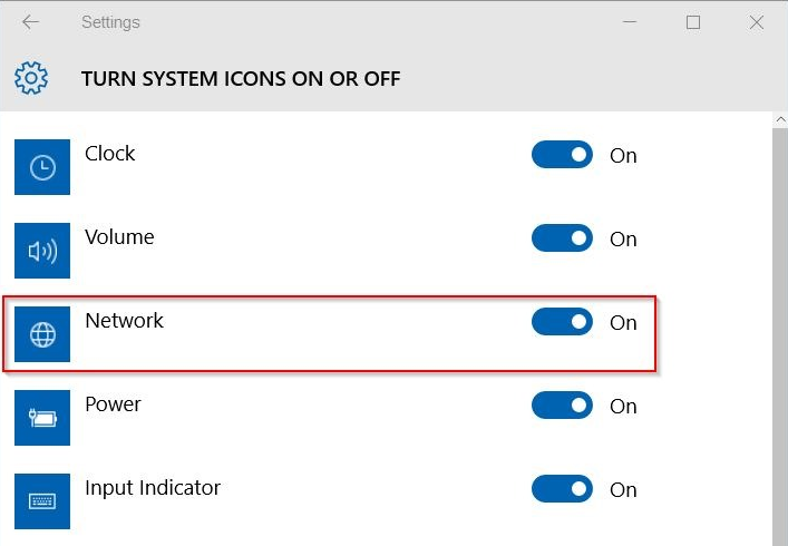 Turn Off Windows Update Status Tray Icon in Windows 10
