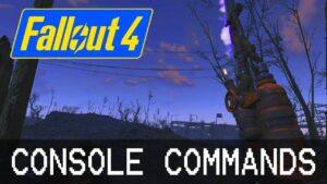 FOV in Fallout 4 via Console Commands