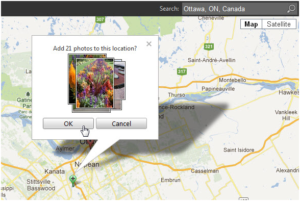 Geotagging for photos