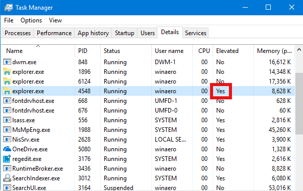 run file explorer as admin