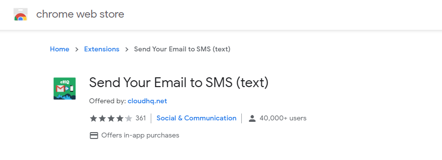 send sms from computer