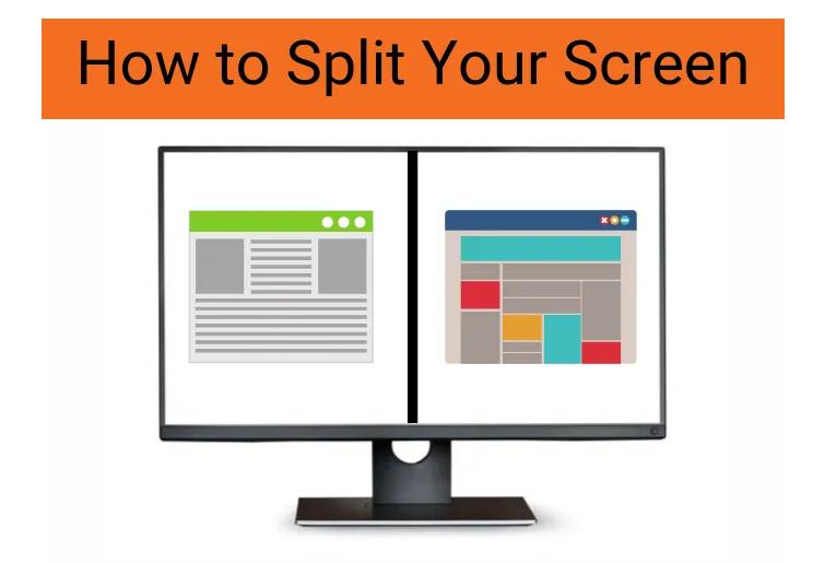 split your screen in windows 10
