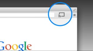 Casting Via Chrome Browser