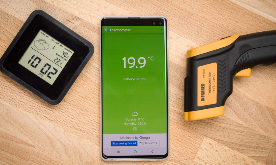 Convert Your Smartphone Into Thermometer