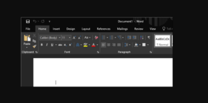 Dark Mode In Microsoft Office