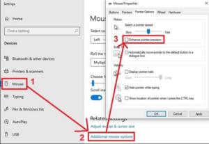 Enhance Pointer Precision In Windows