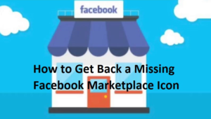 Facebook Marketplace Icon Is Missing