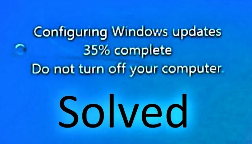 Fix Stuck Or Frozen Windows Update