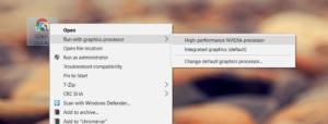 Force App To Use Dedicated GPU